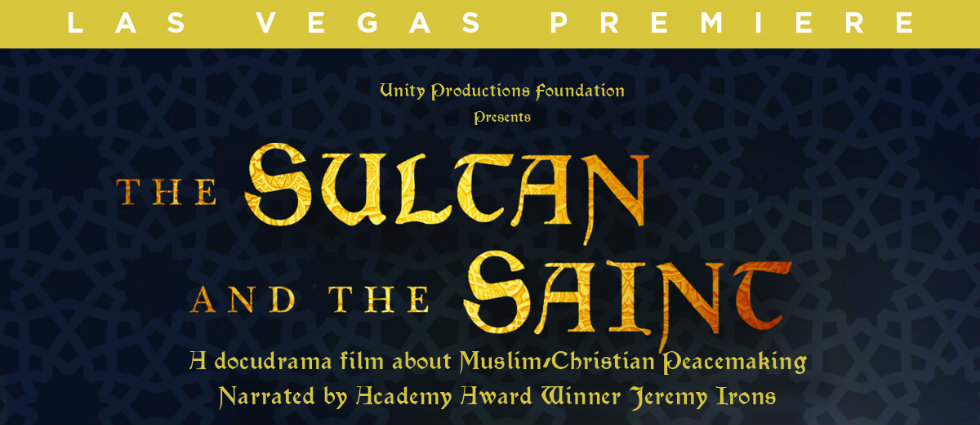 Invitation to preview the PBS documentary The Sultan and The Saint