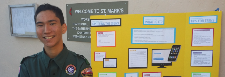 Fight Cyberbullying with Film by Eagle Scout, Nick Hiratsuka