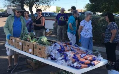 Mobile Food Pantry in West Valley