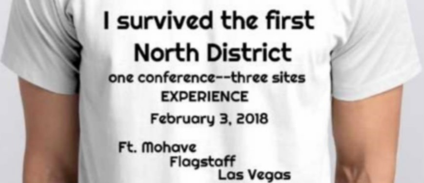 New Things Learned — Our Experiment of One District Conference—Three Sites
