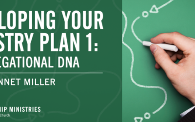 Developing Your Ministry Plan