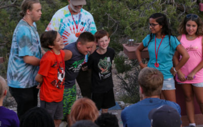 Potosi Pines Campers Were Blessed