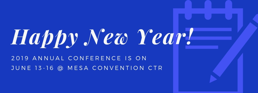 Timeline to Annual Conference 2019