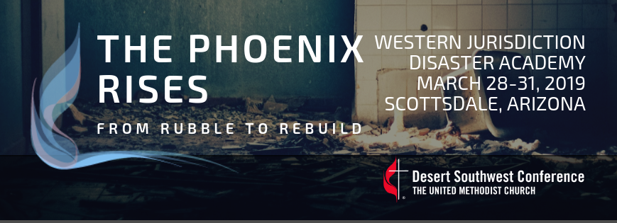 Register today for the Western Jurisdiction Disaster Academy