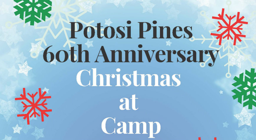 Be Our Guest, Potosi Pines Christmas at Camp