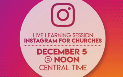 Instagram for churches