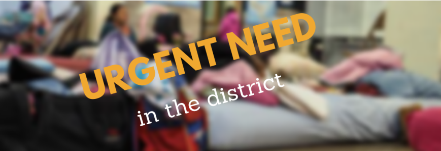 An Urgent Need in Our District