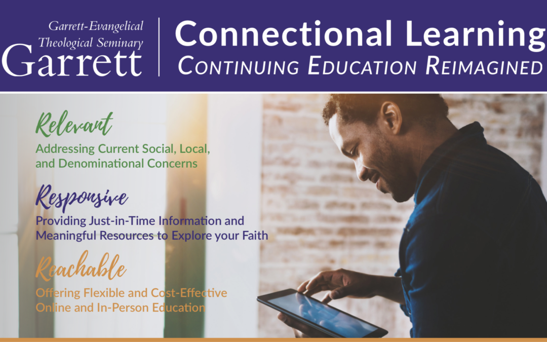 Upcoming Garrett-Evangelical continuing and lifelong education offerings