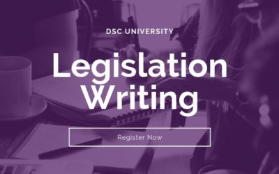 Legislation Writing Workshop