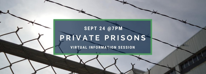 Join the Webinar on Private Prisons