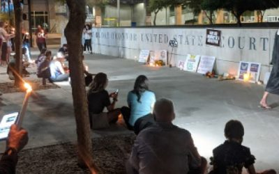 Phoenix Vigil for Justice Ruth Bader Ginsberg, Sandra Day O'Connor Courthouse, 9/19/2020