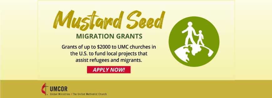 Grants to Help United Methodist Churches Aid Local Refugees and Migrants in Their Communities