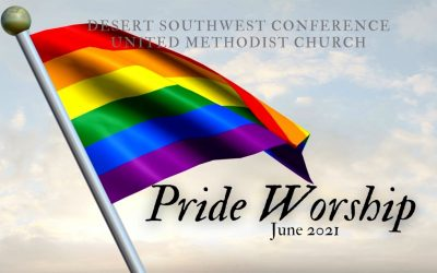 Worship service for Pride Sunday