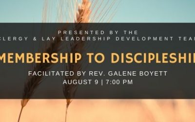 New Virtual Leadership Talks sponsored by your Clergy and Lay Leadership Development Team (CLLD)
